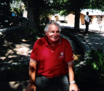 Dad at Chimayo Sept 2004